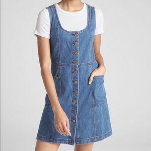 Gap Denim Button Front Dress size 2